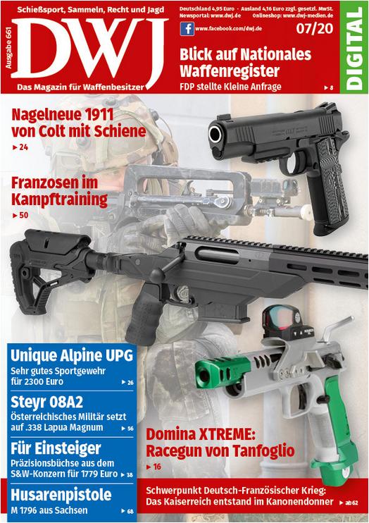 Deutsches Waffen Journal 07/2020