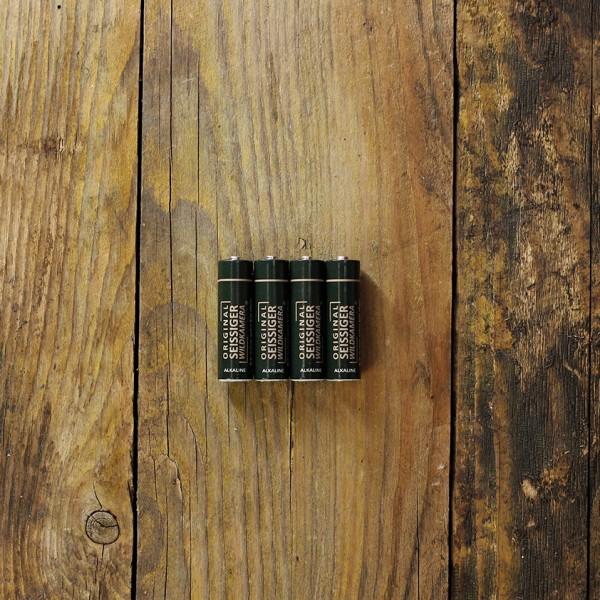 SEISSIGER Alkaline-Batterien 4 Stück