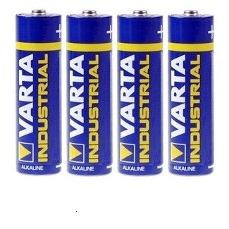 Varta Industrial Alkaline Batterien 1,5V AA-4er-Blister