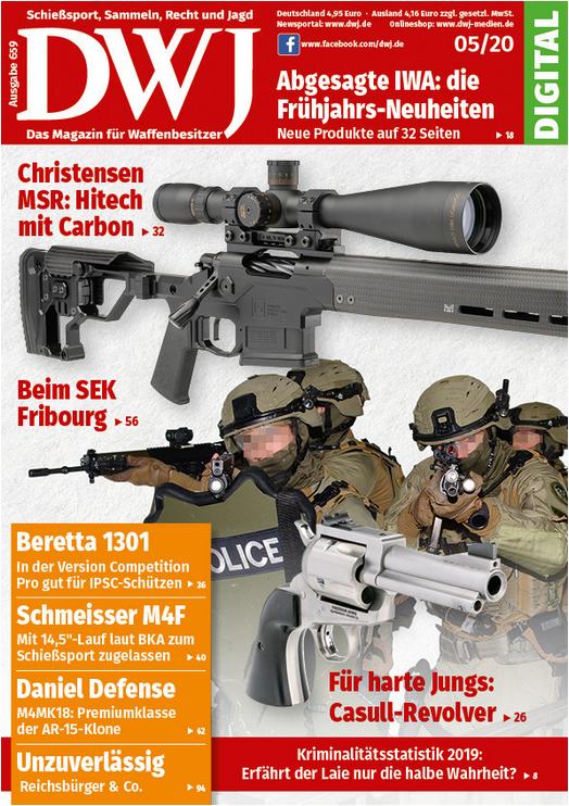 Deutsches Waffen Journal 05/2020