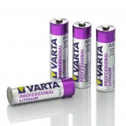 Varta Professional Lithium Batterien 1,5V AA-4er-Blister
