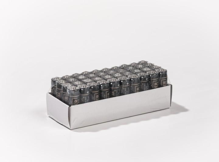 Alkaline Batterien 1,5V (AA / Mignon / LR6 ) - 10er-Riegel