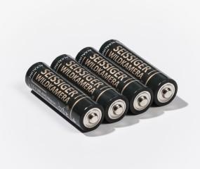 Alkaline Batterien 1,5V (AA / Mignon / LR6 ) - 4er-Blister